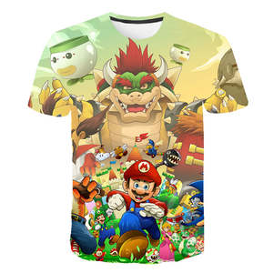 Kids Pikachu T-Shirt Mario-Link Super-Smash Girls Boys Fox Bros Star for And Toddler