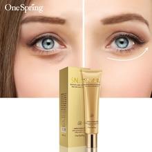 Snail Essence Repair Eye Cream Whitening Moisturizing Anti-aging Wrinkle Remove Dark Circles Eye Care Moisturizer One Spring  все цены