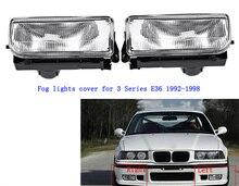 цена на Car Fog Light Front Bumper Right Left Side Halogen Driving Side Mirror Lamp for BMW 3 Series E36 318 320 323 325 328i 1992-1998
