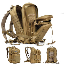 50L Capacity Mens Military Tactical Large Backpack Waterproof Outdoor Sports Hiking Camping Hunting 3D Travel Bag