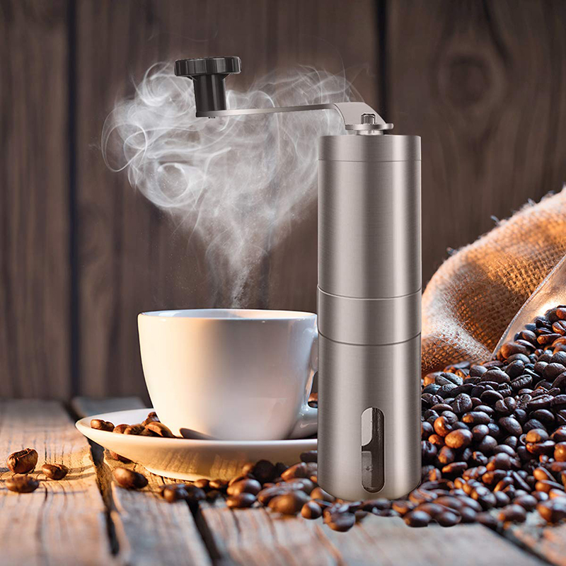 Manual Coffee Grinders - Adjustable Coffee Bean Mills, Brewing Grinders for Office Home, Traveling, Camping and French Press