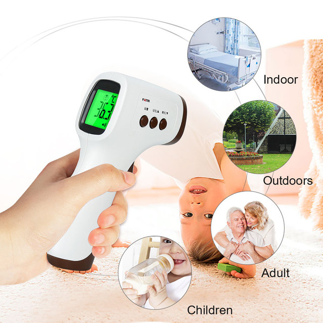 Digital Infrared Thermometer Non-Contact Medical Forehead Thermometer Baby Adult Household Temperature Monitor 6