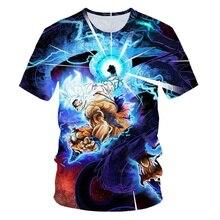 New Cool T-shirt Men Women hot 3d Print Creative The Dragon Ball t shirt Short Summer Tops Hot style Hip Hop t-shirt