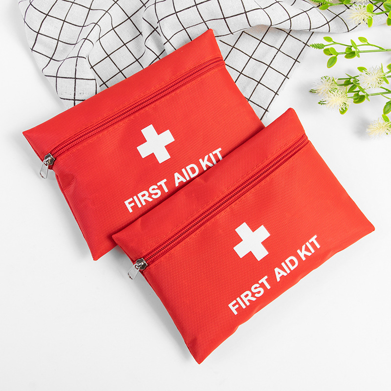 Closeout DealsFirst-Aid-Kit Medical-Box Emergency-Survival-Kit Travel Household Outdoor Mini Home Waterproof