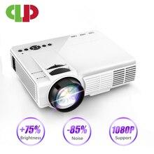 עוצמה Q5 מיני מקרן 2600 Lumens 800*600 תמיכת 720P LED נייד קולנוע ביתי אנדרואיד אלחוטי סנכרון תצוגה עבור טלפון