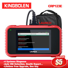 LAUNCH CRP123E OBD2 4 systems ENG ABS SRS Transmission OBDII Code Reader CRP 123E Scanner Car Diagnostic Tool Android CRP123