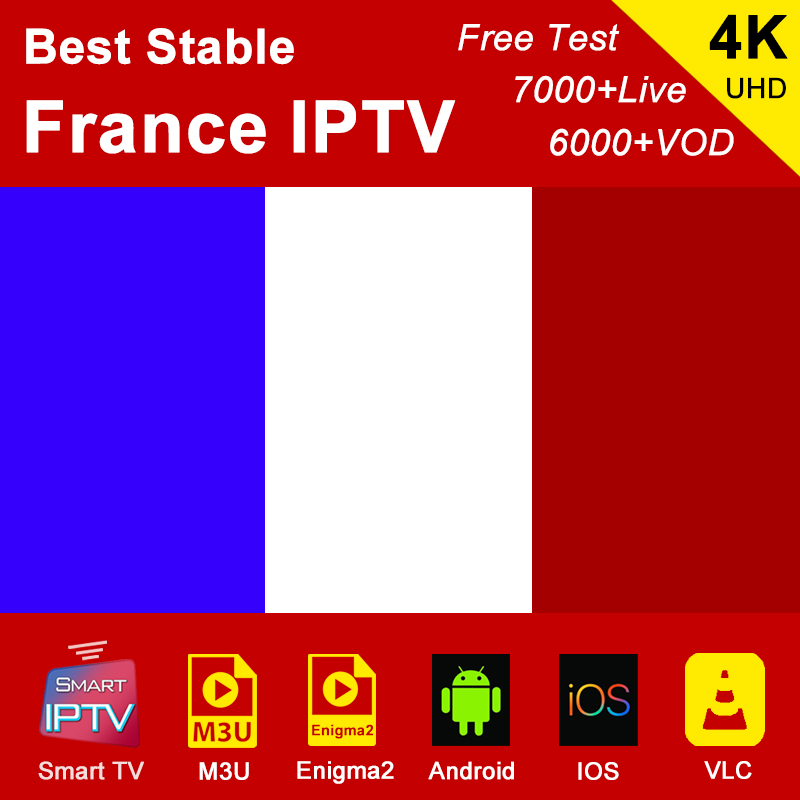 France IPTV Subscription M3U Abonnement IPTV French Portugal Spain Italy Android Box MAG LG Samsung Smart TV IP Sport Channel