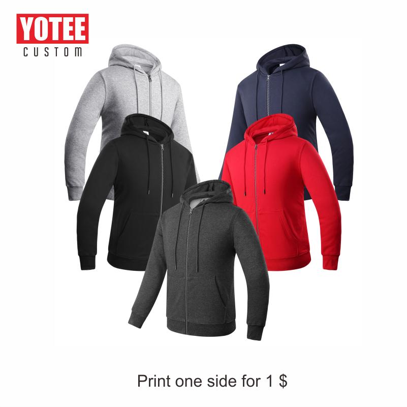 YOTEE 2019 Autumn And Winter Fashion LOGO Custom Knit Zip Top