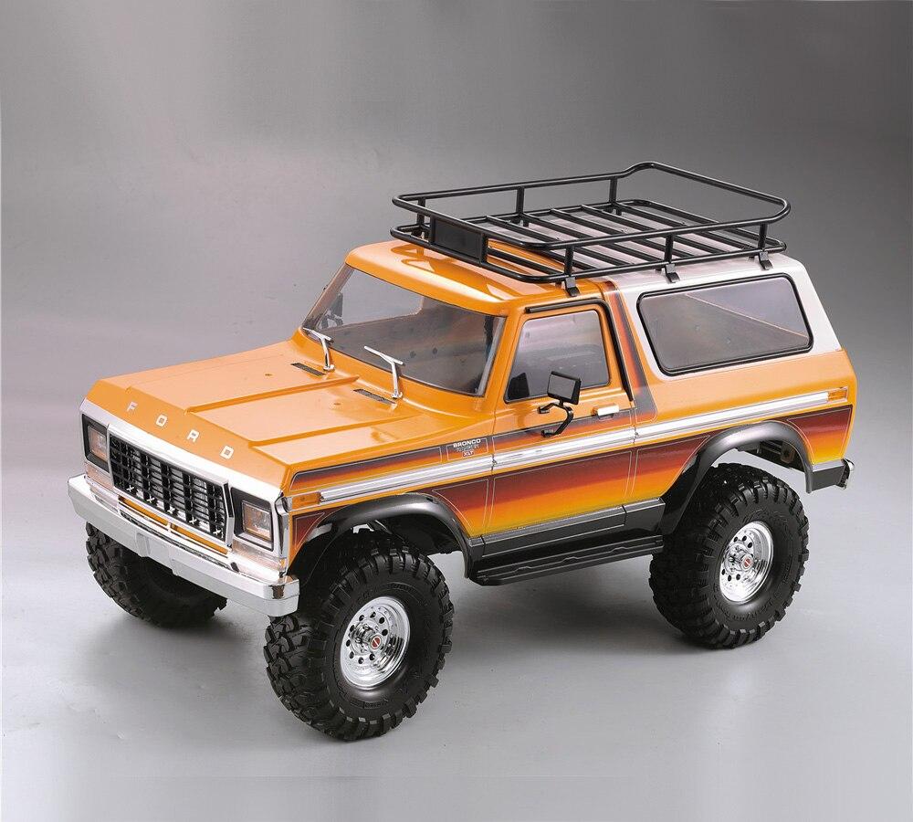 Радиоуправляемый гусеничный автомобиль, запчасти из жесткого пластика, корпус автомобиля 313 мм, колесная база в разобранном виде, комплект для осевой SCX10 90046 Traxxas TRX4 Ford Bronco