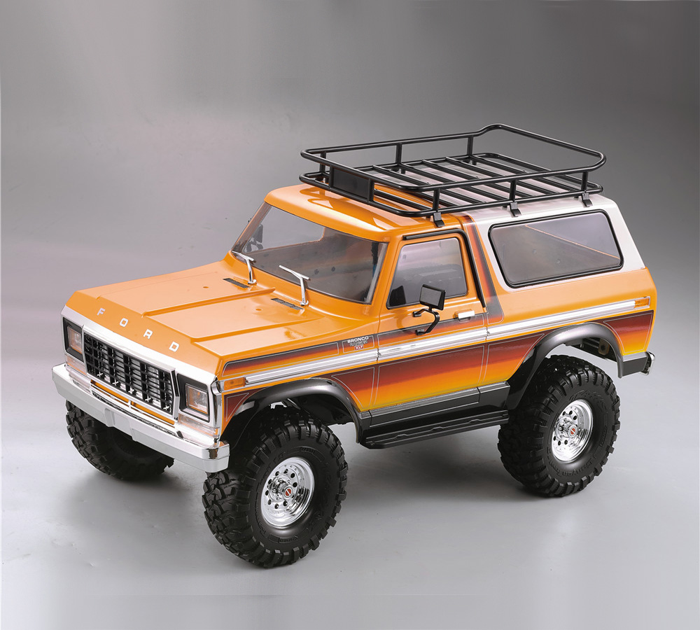 RC Crawler Car Parts Hard Plastic Body Car Shell 313mm Wheelbase Unassembled Kit For Axial SCX10 90046 Traxxas TRX4 Ford Bronco
