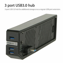 2020 For XBOX ONE USB3.0 Storage External HDD Adapter Memory Bank Expand Coal For XBOX ONE Portable Storage External HDD Adapter