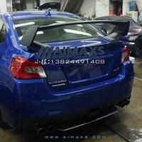 For 2007 2016 Subaru Impreza WRX STI Style Rear Trunk Spoiler ABS Unpainted spoiler