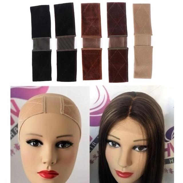 Вельветовая повязка для волос, парик, Кружевная повязка, многоцелевой нескользящий парик, повязка на голову, уличная съемка, лента для волос, фиксированные, Нескользящие аксессуары для волос