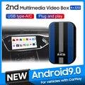 MMB универсальный автомобильный мультимедийный видео Ai Android 9,0 Box беспроводной Apple Carplay для Mercedes Benz Audi Peugeot VW Carplay Dongle