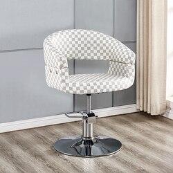 Silla de peluquería silla ajustable Silla de corte de pelo simple silla