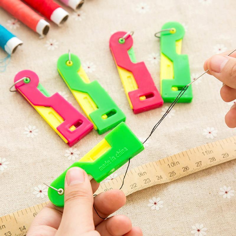 10/5/3/1 pçs agulha automática threader threader dispositivo útil idosos dona de casa guia ferramentas fácil uso diy ferramentas de costura de vestuário