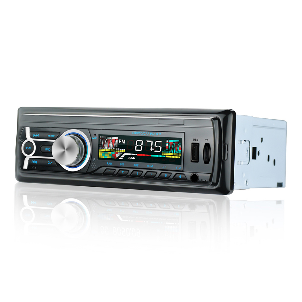 1 DIN 12V Car Radio Wireless Bluetooth Stereo FM Radio Audio Car Player MP3/USB/TF/AUX-IN Central Control System BY005