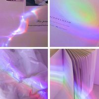Rainbow Projection Lamp Second Generation Romantic Starry Sky Projection Lamp Led Night Light Projector Lighting Creative Gift|Flashes| |  -