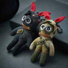 Паровой bunny в стиле панк ретро локомотив куклы эльфа армии