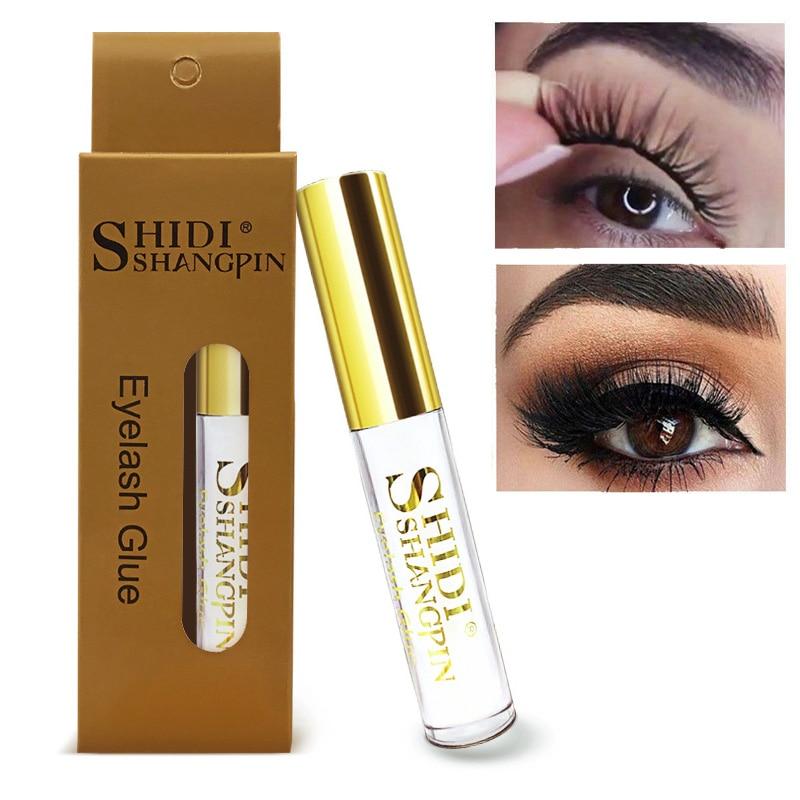 Eyelash Glue Clear Black 5ML Waterproof False Eyelashes Adhesive Individual Eyelash Glue For Lash Extension Cosmetic Makeup Tool