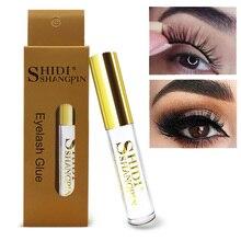 Eyelash Glue Clear Black 5ML Waterproof False Eyelashes Adhesive Individual for Lash Extension Cosmetic Makeup Tool