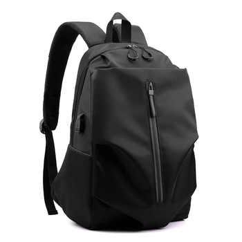Men Fashion Backpack Large Capacity Waterproof Travel backpack School Teenage Mochila Bag USB Charge Bag