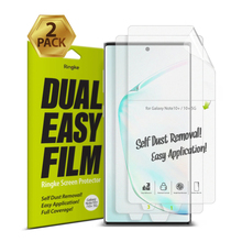 Ringke Screen Protector Dual Easy Film  for Galaxy Note 10 Plus High Resolution Easy Application Film for Note 10+ Pro [2 Pack]