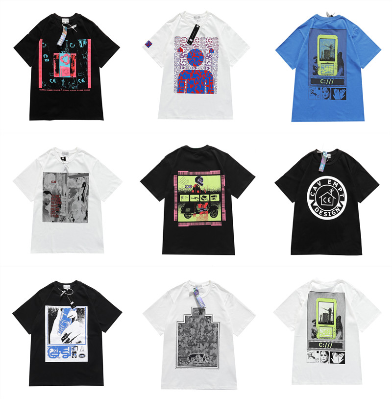 Men Women C.E Cav Empt T Shirt Short Sleeve O-Neck High Quality Summer Style CAV EMPT Casual Fashion CAVEMPT T-shirts