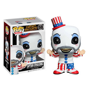Image 1 - Funko pop Captain Spaulding Action Figure Anime Model PVC Collection Toys For Children Christmas birthday Gifts