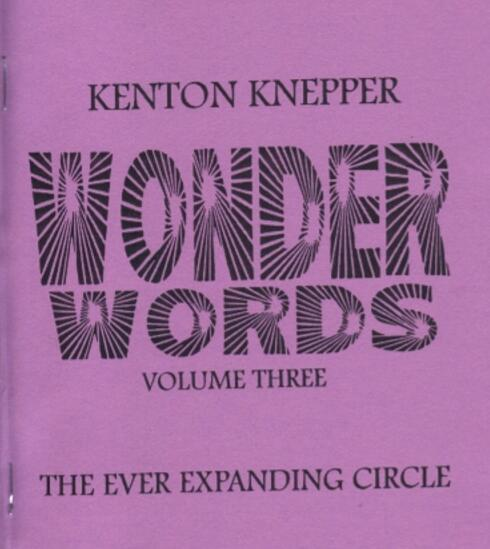 Kenton Knepper - Wonder Words 3-Magic Tricks