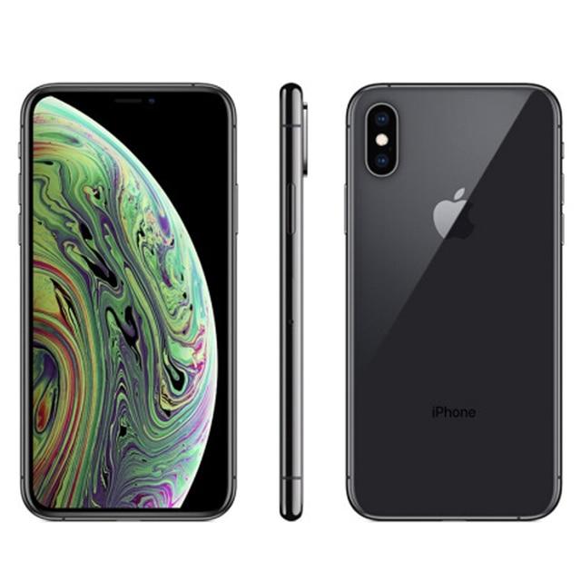 Original Unlocked Apple iphone XS 4G LTE 4G RAM 64gb/256gb ROM A12 Bionic Chip IOS12 IPHONE XS 2658mAh 2
