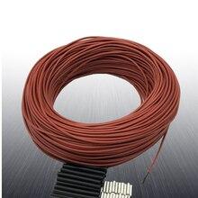 3k 6k 12k 18k 24k 36k 48k câble chauffant en fibre de carbone câble chauffant par le sol ligne directe électrique câble chauffant chaud sans odeur Non toxique