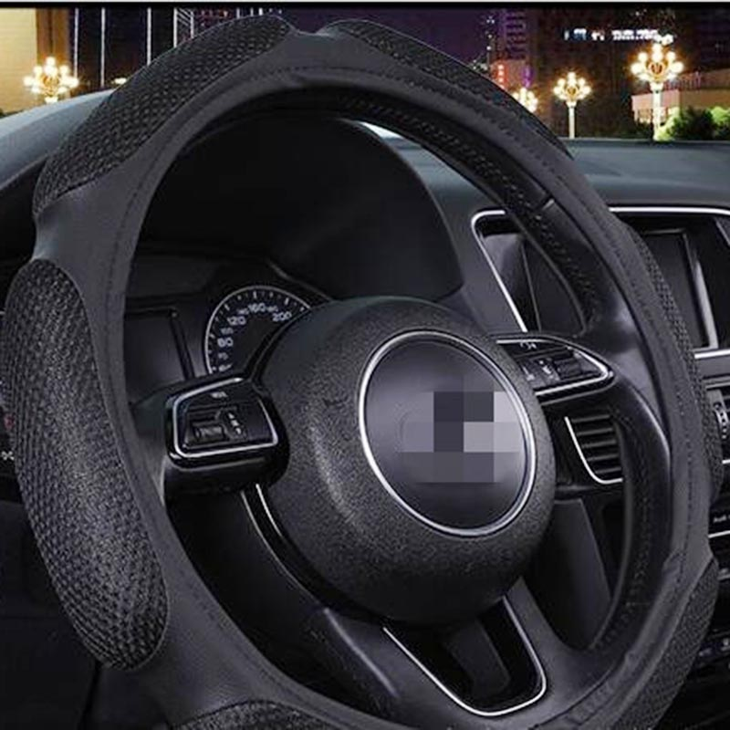 1-piece-Breathable-sandwich-3D-stereo-PU-material-car-steering-wheel-cover-summer-seasons-universal- (2)