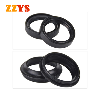 43x54x11 Shock Absorber fork Oil Seal and 43x54 Dust Cover Lip For Aprilia SL1000 FALCO SL RSV 1000 RSV1000 MILLE R RSV1000R image