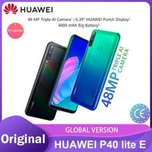 Huawei P40 Lite E Global Versie 4Gb 64Gb Smartphone 48MP Ai Camera 6.39 ''Fullview Scherm 4000 Mah batterij Kirin 710 Телефон