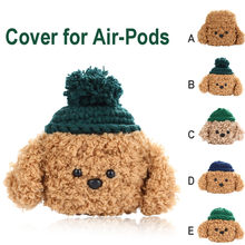 Knitted Animal Design Case For Apple Air-Pods 1/2 Bluetooth Wireless Earphone Bag Charging Case Storage Carrying Protective 19Ag(China)