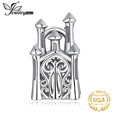 JewelryPalace Castle 925 Sterling Silver Beads Charms Original For Bracelet original Jewelry Making