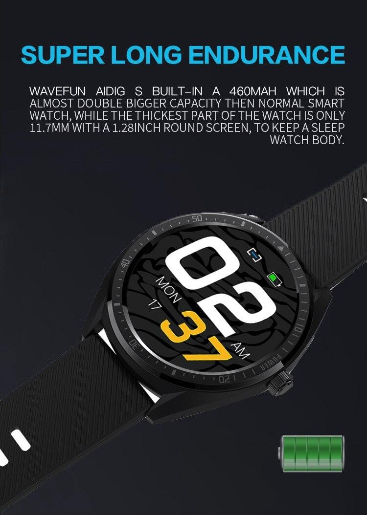 Wavefun Aidig S smart Watch IP68 4