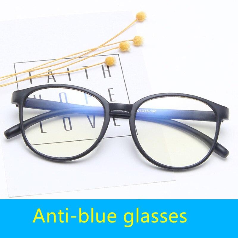 Lunettes dordinateur anti-lumière bleue | Cadre en plastique à la mode 2019 hommes et femmes, lunettes de revêtement film bloquant le rayon, pour téléphone dordinateur et de jeux