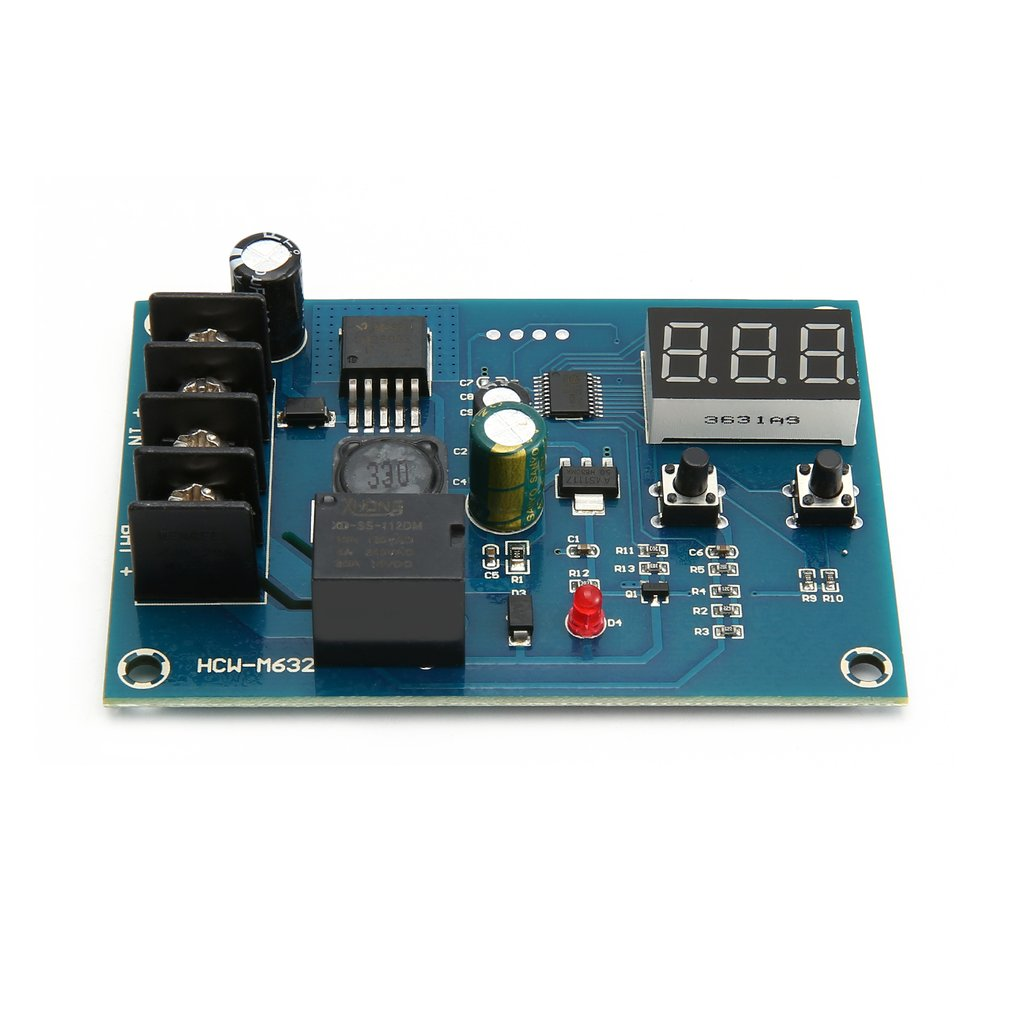 XH-M603 Digital LED Display Charging Control Module Storage Lithium Battery Charger Control Switch Protection Board 12-24V