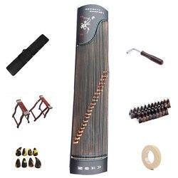 Standard Cinese Guzheng 64.17 pollici Candlenut fronte retro Cina guzheng 163 centimetri stringa di strumenti musicali