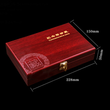 Wood Coin Protection Display Box Storage Case Holder +50 Small Round Boxes Inner Pads  For Awards Ceremony