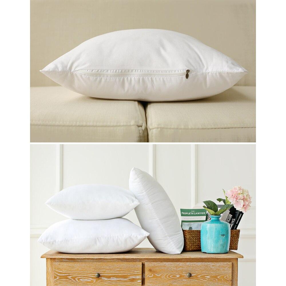 Подушка вставки подушка наполнение квадратная подушка вставки основной диван кровать подушки белый 40*40 45*45