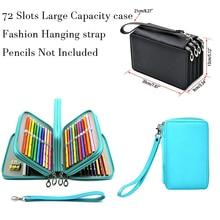 Kawaii School Pencil Case 72 Holes Penal Pencilcase for Girls Boys Pen Bag Large Cartridge Penalties Big Box Stationery Pouch