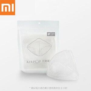 Image 1 - オリジナル xiaomi airpop マスク空気着用抗ヘイズ防曇フェイスマスク再利用可能なウォッシャブル用交換フィルターマスク