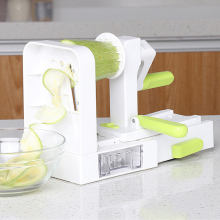5 Blade Vegetable Spiralizer Slicer Multifunction Manual Cutter for vip customer
