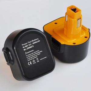 US 12 никель-металл-гидридный аккумулятор с напряжением Перезаряжаемые Батарея 3.0Ah для Dewalt аккумуляторная электродрель отвертка DE9037 DE9071 DE9074 ...