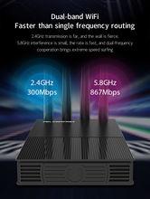Большой wifi диапазон покрытия 1200 Мбит/с маршрутизатор двухдиапазонный