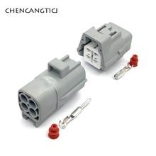 5 Sets Sumitomo 4 Pin Way 6188-0066 6189-0126 TS 090 Sealed Male Female Oxygen Sensor Connector Plug For Suzuki Toyota Corolla