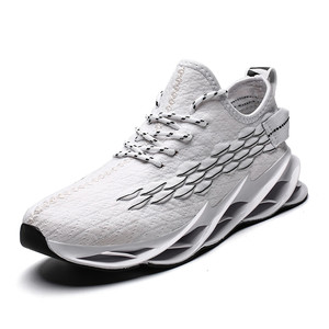 Image 2 - Men Mesh Casual Shoes Lace Up New 2019 Men Sneakers Spring Autumn Breathable Fashion Comfortable Male Footwear Running Shoes